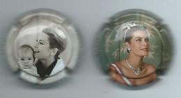 311 CH - CHAMPAGNE FAY-MICHEL - GRACE KELLY (5-6, 6-6) 2 CAPSULES - Other