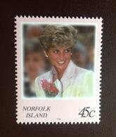 Norfolk Island 1998 Diana MNH - Norfolk Island