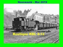 AL 576 - Train - Loco 242 TC 22 En Gare - CHATEAU CHINON - Niévre- SNCF - Trains