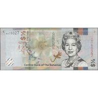 TWN - BAHAMAS NEW - ½ Dollar A.2000 (2019) Prefix A UNC - Bahamas