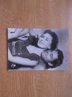 "Carte Postale  10,5 X 14,5 Cm  Filmster Exclusiviteit L.A.B  Maureen O'Sullivan Et J.Weismuller In ""Tarzan"" - Artisti"