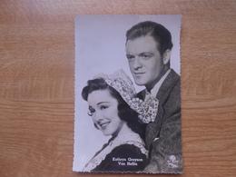 "Carte Postale  10,5 X 14,5 Cm  Filmster Exclusiviteit L.A.B  Kathryn Grayson Et Van Heflin In ""Les 7 Amoureuses"" - Artisti"