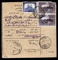 A6236) Türkei Turkey Paketkarte Parcel Card Kerassound 1924 - Covers & Documents