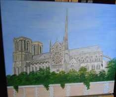 Cathédrale Notre Dame De Paris - Acryliques