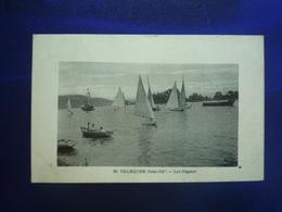 1927 VILLEQUIER LES REGATES BON ETAT - Villequier