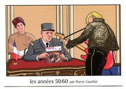 Thématique De Gaulle - Le Général Et Tante Yvonne Reçurent Bien L'idole Des Jeunes (Johnny Hallyday) à L'Elysée - R 5640 - Historical Famous People