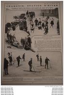 1908 CHAMONIX STATION D'HIVER - HENRI FARMAN ISSY LES MOULINEAUX - LE RACING CLUB - AUTODROME OU CIRCUIT - CYCLISM - Livres, BD, Revues