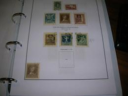 Ungheria SP.1923 100 Ann.nascita Petofi  .Scott.B 72/76 See Scan On Scott.Page; - Ungheria