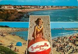 Dép 85 - Bretignolles Sur Mer - Multivues - Semi Moderne Grand Format - état - Bretignolles Sur Mer