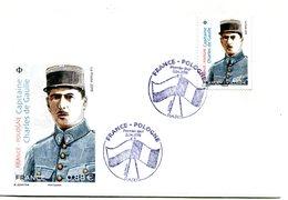 Thématique De Gaulle - PJ Du Timbre France Pologne 2 Avril 2019 - R 5646 - De Gaulle (General)
