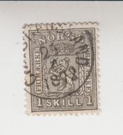 Noorwegen Cat.Michel 11 Gestempeld - Used Stamps