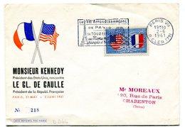 Thématique De Gaulle - Rencontre Kennedy - De Gaulle 31 Mai-2 Juin 1961 - R 5647 - De Gaulle (General)