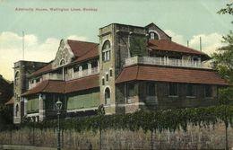 India, BOMBAY, Wellington Lines, Admirality House (1910s) Postcard - India
