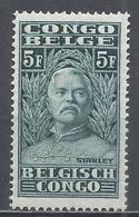 Belgian Congo 1928. Scott #127 (M) Sir Henry Morton Stanley (1841-1904), Explorer * - Belgisch-Kongo