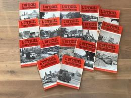 17 Magazines L'OFFICIEL Des TRANSPORTEURS  1969/70/71 - Camion / Bus... - Auto/Moto