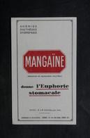 VIEUX PAPIERS - France - Document Publicitaire Médicale Mangaïne , Timbre Du Japon Au Verso - L 33634 - Publicités