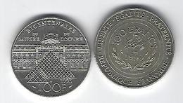 FRANCE  ARGENT 100 Francs X2 - Francia