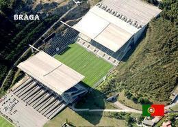 Portugal Braga City Stadium New Postcard Stadion AK - Fussball