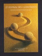 CPM.   Cart'Com.   Cinéma.   Festival Des 3 Continents.  Nantes 2000. - Cinema