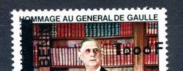 Thématique De Gaulle - Dahomey PA 66 - Surcharge BENIN + 1000 Fc - RARE - T 887 - De Gaulle (General)