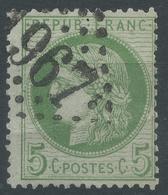 Lot N°50243  N°53, Oblit GC 1967 Largentière, Ardèche (6), Ind 3 - 1871-1875 Cérès