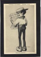 CPA Bertiglia élections 1913 Politique Caricature Non Circulé - Bertiglia, A.