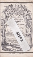 DP Maria-Petronilla VAN BANST Moerzeke ° Circa 1766 / + 1856 Baasrode (wed. Van Damme) - Religion & Esotérisme