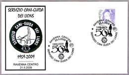 Servicio Nacional De PERROS-GUIA - GUIDE-DOGS - LIONS. Ravenna 2009 - Handicap