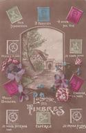 CPA - Le Langage Des Timbres - 1918 - Représentation Timbres - Timbres (représentations)