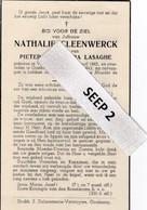 DP Juffr. Nathalie CLEENWERCK Vlamertinge 1865-1943 Oostkamp - Religion & Esotérisme