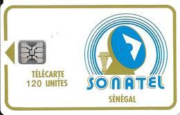 CARTE-PUCE-SENEGAL-120U-SC4-SONATEL-V°5N° Ge 44521-UTILISE-TBE - Senegal
