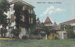 Priay (Ain) - Château De St Saint Didier (de La Tour) - Collection Dugas - Carte Colorisée - France