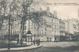 57 // METZ   Coin De La Rue Serpenoise Et Esplanade - Metz