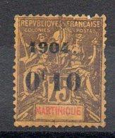 MARTINIQUE - YT N° 57 - Neuf * - MH - Cote: 21,00 € - Martinique (1886-1947)