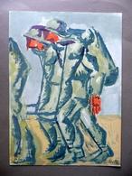 Emilio Notte Futurismo Tavola Litografica A Colori Pollenza 1975 Garanzia Arte - Stampe & Incisioni