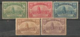 Cuba 1929 Capitol 5v Scott 294-298 Mint Hinged Price $5.00 - Cuba