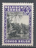 Belgian Congo 1938. Scott #166 (M) Molindi River * - Belgisch-Kongo