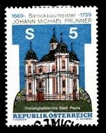 Autriche 1989 Mi.Nr: 1950 Todestag Von Johann Michael Prunner  Oblitèré / Used / Gebruikt - 1945-.... 2ème République