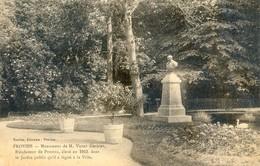 77 - Provins - Monument De M. Victor Garnier - Bienfaiteur - 1913 - Provins