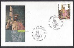 RB85   ITALY, ITALIE FDC RESURRECTION OF PIERO DELLA FRANCESCA - Religione