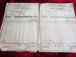 WW2 1943 -OBLIGATIONS 2000fr CRÉDIT NATIONAL 1942 A LOTS-RELEVÉ NUMÉRIQUE SOCIÉTÉ GÉNÉRALE CHINON-Fiscal Action Titre - Aandelen