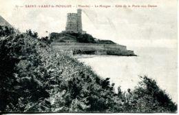 N°73754 -cpa Saint Vaast La Hougue -la Hougue -côte De La Porte Aux Dames- - Saint Vaast La Hougue