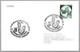 50 Años LIBERACION De MIGNANO MONTELUNGO - 50 Years LIBERATION. Mignano Montelungo, Caserta, 1994 - WW2 (II Guerra Mundial)