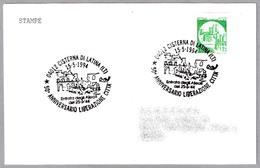 50 Años De La LIBERACION - 50 Years Of LIBERATION. Cisterna Di Latina 1994 - WW2 (II Guerra Mundial)