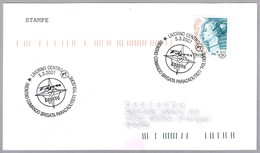 "BRIGADA PARACAIDISTA ""FOLGORE"" En KOSOVO. Parachutist Brigade. Livorno 2001 - Militares"