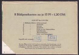 BRD Bildpostkarten *, Kpl. Serie A16/117-124, Mühlhausen (Ruhr), Schleuseninsel, Ruhrtal, Schlßbrücke, Wasserbahnhof - [7] West-Duitsland