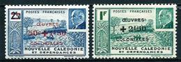 Nueva Caledonia (Francesa) Nº 246/7 Nuevo - Usados