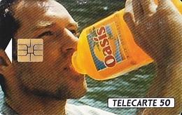 FRANCE Télécarte 50 Unités   So3  06.93   Oasis Aux Sources Du Plaisir      Tirage 1.2 K Ex. - Advertising