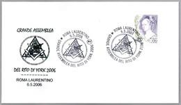 GRAN ASAMBLEA DEL RITO DE YORK - Grand Assembly Of The York Rite. Roma 2006 - Francmasonería