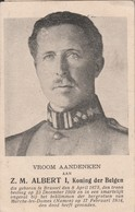 3 Prenten Koning Albert 1934 - Devotion Images